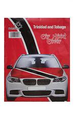 TRINIDAD & TOBAGO COUNTRY FLAG CAR HOOD COVER .. HIGH QUALITY ..  NEW
