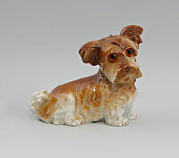 99840249 Eliminazione Fumi Porcellana Figura Terrier-Hund