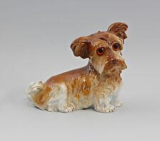 99840249 Rauchverzehrer Porzellan Figur Terrier-Hund