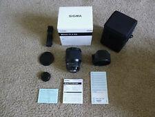 Sigma Art 85mm F/1.4 HSM DG Lens For Nikon
