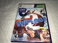 Wipeout 2 Microsoft Xbox360 Kinect Required(not Included) Complete Free Ship