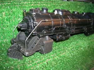 LIONEL POST WAR LOT # 2056 HUDSON,LOCO SHELL USED CONDITION.