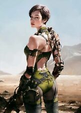 """24""""x36"""" Steampunk Canvas Art Poster Wall Prints Paintings Decor"""