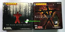 Medicom Toy Japan Kubrick 100% Blair Witch Project 1 and 2 Box Set movie figure