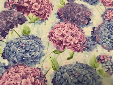 Fabric Hydrangea Harmony 5525, sold by the yard