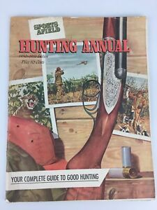 Sports Afield Hunting Annual 1951-1952 Winchester Ad Advertising on Back