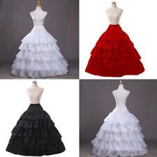 2018 Bridal Ballet Pettiskirt Fairy Skirt Wedding Ball Gown Bubble Long Dress