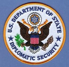 UNITED STATES DEPARTMENT OF STATE DIPLOMATIC SECURITY SHOULDER PATCH