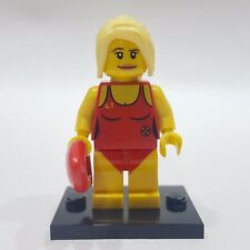 "LEGO Collectible Minifigure #8684 Series 2 ""LIFEGUARD"" (Complete)"