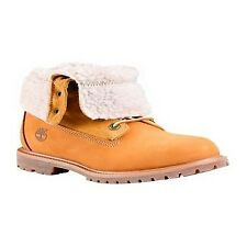 Timberland Authentics Teddy Fleece Fold Down 8329r Wheat Ladies BOOTS 6 UK