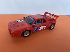 BMW M1 ROJO SCALEXTRIC EXIN REF 4063 4064 N50