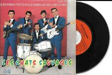 CD CARDSLEEVE EP 4T LES CHATS SAUVAGES & DICK RIVERS JE REVIENDRAI / OH! LADY