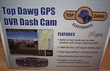 "NEW Top Dawg GPS DVR Dash Video Camera G-Sensor 1.5"" Full HD 1080p TDGPSCAM01"