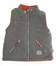 PUMPKIN PATCH PUFFER VEST Boy Size 1 Kid Thick Snow Bodywarmer Ski Jacket Khaki