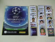 UEFA CHAMPIONS LEAGUE 2007-08 ALBUM PANINI VACIO + SET OF 552 STICKERS COMPLETE