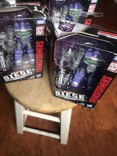 Transformers WFC Seige Refraktor Lot 3pc Combiner Reflector G1 War for Cybertron