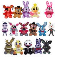 """Five Nights At Freddy's Plush Toy Stuffed Dolls Foxy Bear Bonnie Chica 10"""" or 7"""""""