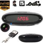 HD 1080P DV Hidden Camera Clock Remote Night Vision Motion DVR Digital Video Cam