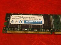 Hypertec 1Gb HYMDL9001G Non-ECC PC2100 266MHz DDR 184-Pin Desktop Memory RAM