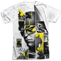 Batman 80th Anniversary 80th Panel Sublimation Officially Licensed Adult T-Shirt