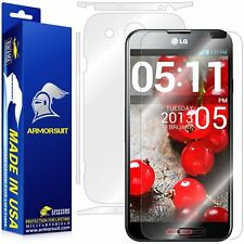 ArmorSuit MilitaryShield LG Optimus G Pro Screen Protector + Full Body Skin NEW