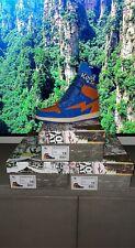 """Kool Kiy/Air Kiy """"Sport Blue/Orange (Ny 2.0)� Sz 10 In Hand"""