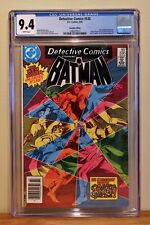 Detective Comics #535 Cgc 9.4 *95¢ Canadian Price Variant * Highest Graded Copy!
