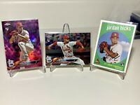 2018 Topps Jordan Hicks RC Rookie (Lot of 4) St Louis Cardinals