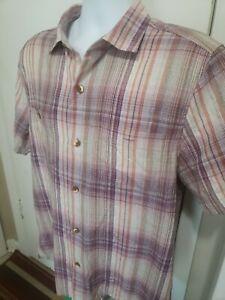 Tommy Bahama Island Zone Mens Camp Shirt Sz M  Silk Poly