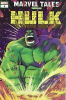 Marvel Tales Hulk Comic Issue 1 Modern Age Al Milgrom Stan Lee Peter David Stone