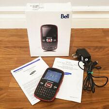 2009 Samsung LINK SCH-R351 Cell Phone, BELL, Working, With Charger, Box, Manuals