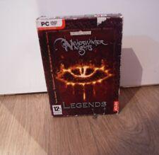 Neverwinter nights legends coffret pc = jamais hiver = les royaumes oubliés = atari = dvd rom