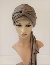 Volume turban snood, full head covering, head wrap, hair wrap, chemo head wear