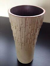 VINTAGE anni 1970 Scaffale Pottery Vulcano Studio Vaso modernist Halifax ART england