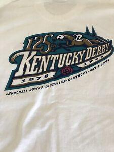 BRAND NEW VINTAGE RARE NEVER WORN Pepsi One 125th KENTUCKY DERBY XL T-Shirt