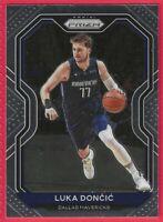 2020-21 Panini Prizm Luka Doncic Base Card #32 Dallas Mavericks