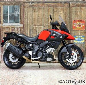 Suzuki V-Strom 1:12 Scale Die-cast Model Toy Motorcycle Motorbike Maisto