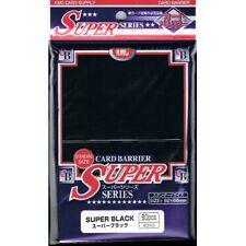 KMC Super Black Sleeves (80) MTG / POKEMON
