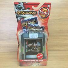 Redakai X-Reader Starter Pack - 23 Blast 3D X-Drive Cards - Sealed