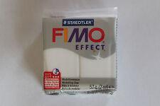 Fimo Modelliermasse FIMO® soft, Effekt translucent weiß