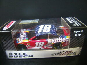 Kyle Busch 2019 Skittles Red White and Blue #18 Joe Gibbs Camry 1/64 NASCAR