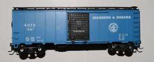 One 40' box car, Berkshire & Mohawk, BM 4072, rare limited edition collectible