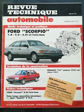 revue technique RTA 510 Ford Scorpio 1.8, 2.0 et twin cam.