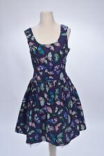 Kleid Sommerkleid mit Schmetterling-Print von M&Co, Gr. 158, neu