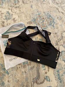 SHEFIT She Fit Sports Bra- Size Luxe, The Flex, Black  NWT