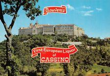 Cartolina Cassino Abbazia