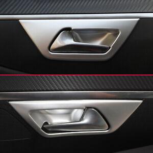 Car Door Interior Handle Cover For Peugeot 3008 5008 Matte Chrome Accessories