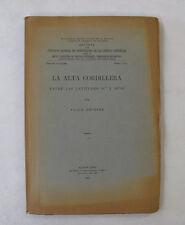 South America Geology Agrentina Andes Mountains La Alta Cordillera Illus. 1951