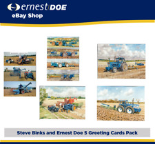 FORD Tractor Greetings Cards - Pack of 5 - FORD NEW HOLLAND CNH Agriculture