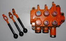 HYDRAULIC CONTROL LOADER FORKLIFT VALVE WITH HANDLES